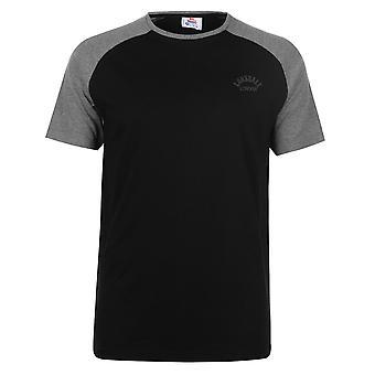 Lonsdale Mens Arc Rgln T Crew Neck Shirt