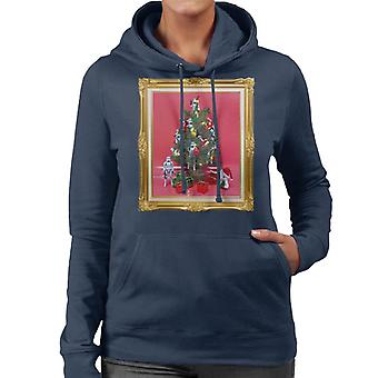 Ursprungliga Stormtrooper Christmas Tree Women's Hooded Sweatshirt