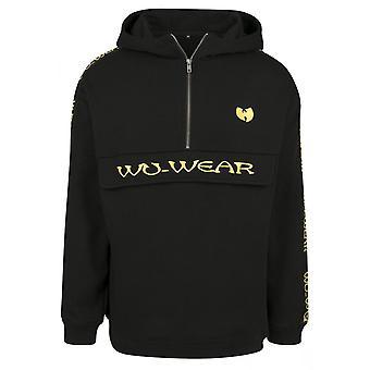 Wu-wear hip hop Hoody - pull over black