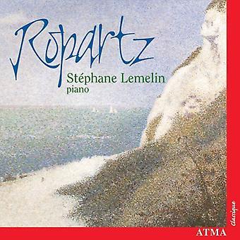 J. Ropartz - St Phane Lemelin spelar Ropartz [CD] USA import