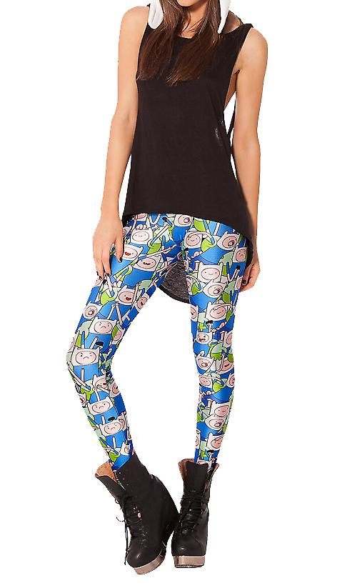 Waooh - Mode - Legging fantaisie imprimé Adventure Time