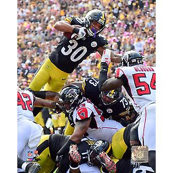 James Conner 2018 Action Photo Print
