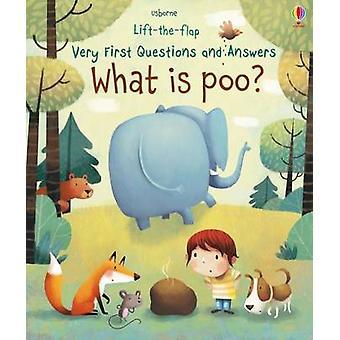 What is Poo? by Katie Daynes - Marta Alvarez Miguens - 9781474917902