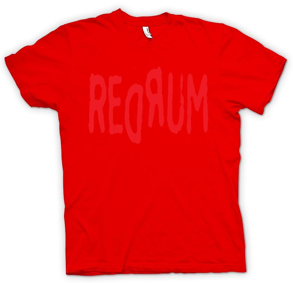 Heren T-shirt - rum - Funny