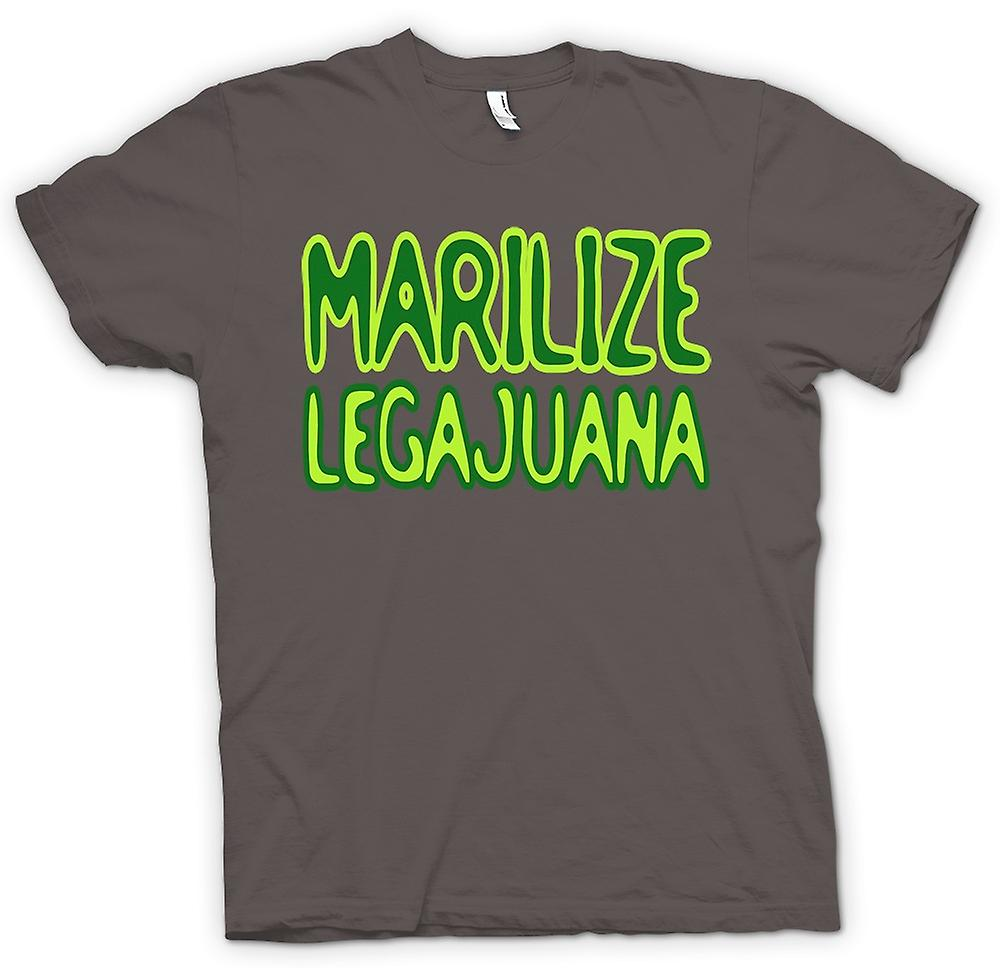 Womens T-shirt-Marilize Legajuana onkruid