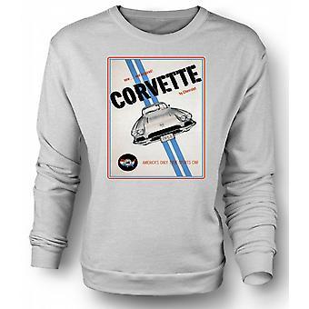 Sweatshirt Chevy Corvette sport - bil