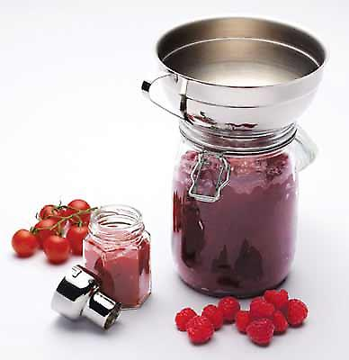 Acero inoxidable Jam Funnel - Ajustable