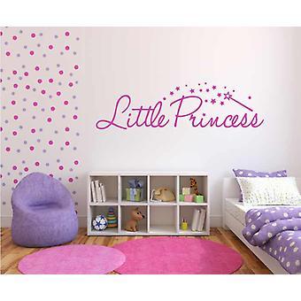 Little Princess Girls Bedroom Wall Sticker
