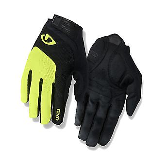 Giro Highlight Yellow 2019 Bravo Gel Cycling Gloves