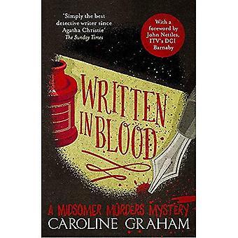 In Blut geschrieben: ein Midsomer Morde Rätsel 4