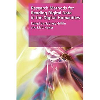 Forskningsmetoder til læsning af digitale Data i de digitale humaniora (forskningsmetoder for Arts and Humanities...