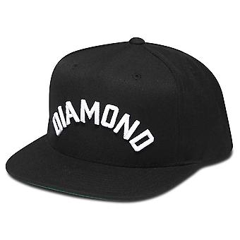 Diamond leverans Co Arch Snapback svart