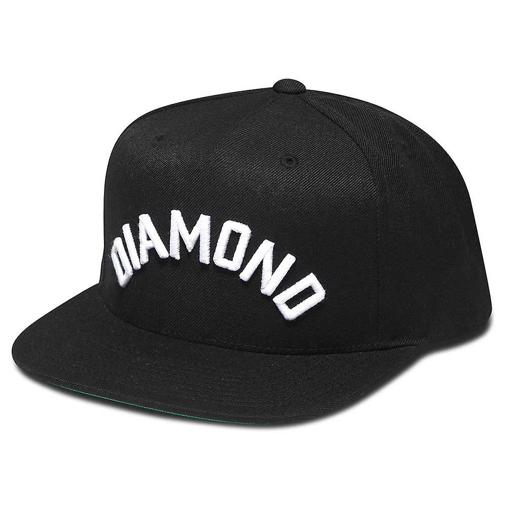 Diamond forsyning Co Arch Snapback svart