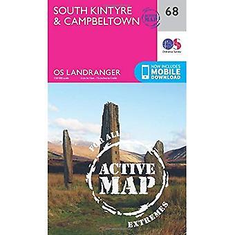South Kintyre & Campbeltown� (OS Landranger Map)
