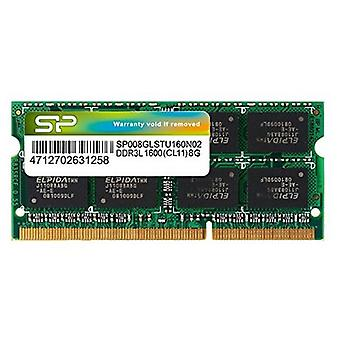 RAM hukommelse Silicon Power SP008GLSTU160N02 DDR3L 204 - pin SO-DIMM 8 GB 1600 Mhz