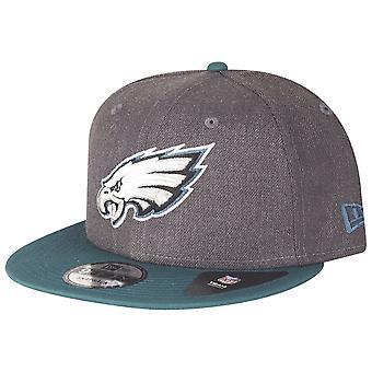 New era 9Fifty Snapback Cap - HEATHER Philadelphia Eagles