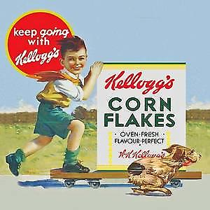 Kelloggs Corn Flakes drinks mat / coaster
