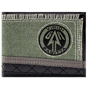 DC Arrow Viridi Sagitta ID & carte Bi-Fold Wallet