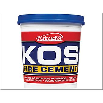 KOS FIRE CEMENT BUFF 500GM
