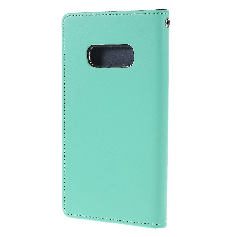 Mercury GOOSPERY Rich Diary till Samsung Galaxy S10e - Cyan