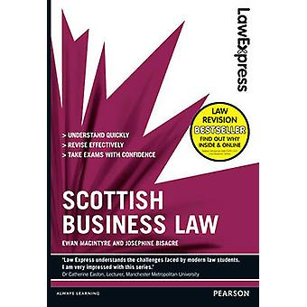 Law Express Scottish Business Law Revision guide by Ewan MacIntyre