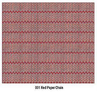 Craft konsortiet rött papper kedja Decoupage papper (CCXDECP031)