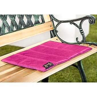 Gardenista® Pink Water Resistant 4 Part Folding Sit Mat