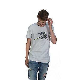 Overwatch Genji Pixel T-Shirt Unisex Medium White (TS004OW-M)