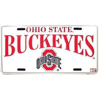 Ohio State Buckeyes NCAA License Plate