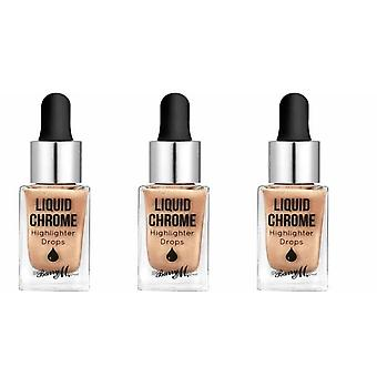 Barry M X3 Barry M Liquid Chrome Highlighter Drops - Liquid Fortune