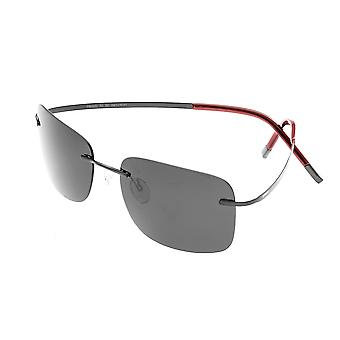 Breed Orbit Titanium Polarized Sunglasses - Black/Black