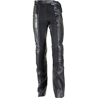 Richa Black Kelly Short X Womens Motorcycle Leather Pants