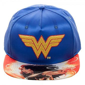 Baseball Cap - DC Comics - Wonder Woman Satin Snapback New sb50tsdco