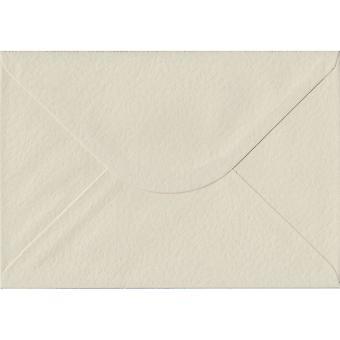 Ivory Hammer Gummed C5/A5 Coloured Ivory Envelopes. 100gsm FSC Sustainable Paper. 162mm x 229mm. Banker Style Envelope.