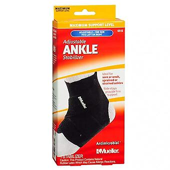 Mueller adjustable ankle stabilizer, maximum support, one size, 1 ea