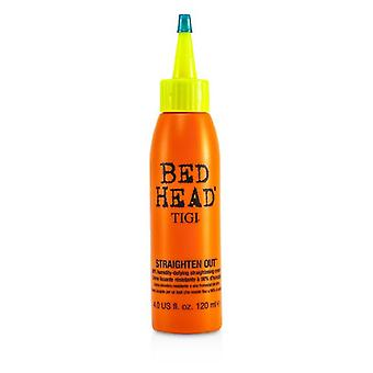 Tigi Bed Head Straighten Out 98% Humidity-defying Straightening Cream - 120ml/4oz