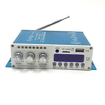 Digital mini Bluetooth amplificador estéreo azul