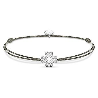 Thomas Sabo Silver Woman Braided Bracelet - LS054-401-5-L20v