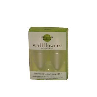 Bath & Body Works Coconut Lime Verbena Wallflowers Refill (2 Bulbs)