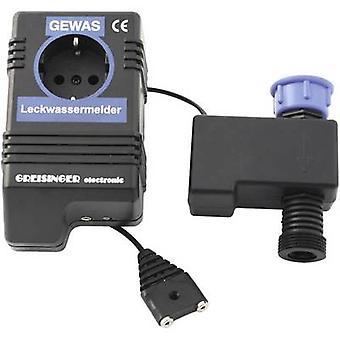 Greisinger 601910 wody wyciek detektor włącznie z zewnętrznego czujnika zasilany
