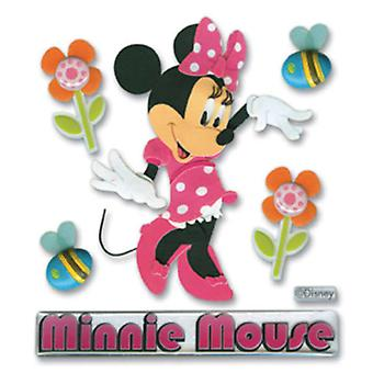 Disney Mickey Mouse Clubhouse Dimensional Sticker Minnie Mouse Dmch M1