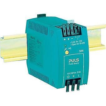 Rail mounted PSU (DIN) PULS MiniLine ML30.102 12 Vdc 2.5 A 30 W 1 x