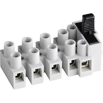 5-Way Fused Polyamide Terminal Blocks 10A - Adels-Contact 17 03 05 V9 503 SI/5 DS