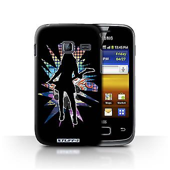 STUFF4 Case/Cover for Samsung Galaxy Y Duos/S6102/Rock Chick Black/Rock Star Pose