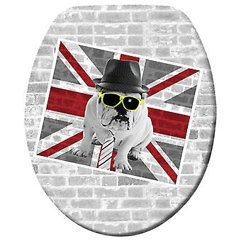 Wenko toilet seat union jack  duroplast (Home , Bathroom , Bathroom accessoires)