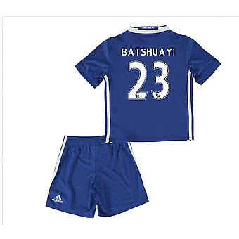 2016-17 Chelsea Home Mini Kit (Batshuayi 23)