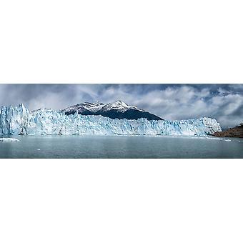 Perito Moreno Gletscher südlichen Patagonian Ice Field Los Glaciares National Park Patagonien Argentinien Poster drucken