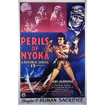 Perils of Nyoka Movie Poster (11 x 17)