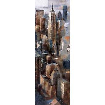 Eine Ansicht, ich erinnere mich - Empire State Building Poster Print von Marti Bofarull