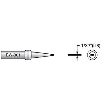 Soldering tip Flat Plato EW-301 Tip size 0.8 mm Content 1 pc(s)
